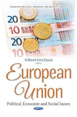 European Union: Political, Economic & Social Issues (Paperback)