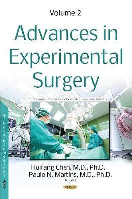 Advances in Experimental Surgery: Volume 2 (Hardback)