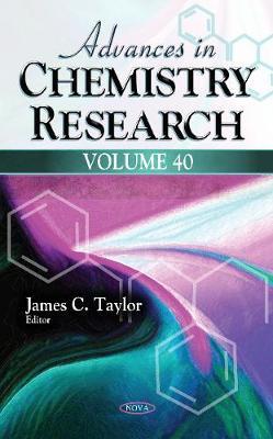Advances in Chemistry Research: Volume 40 (Hardback)