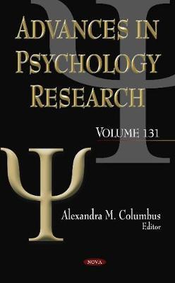 Advances in Psychology Research: Volume 131 (Hardback)