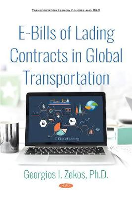 E-Bills of Lading Contracts in Global Transportation (Hardback)