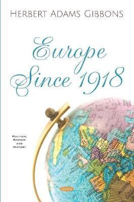 Europe Since 1918 (Hardback)