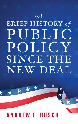 A Brief History of Public Policy since the New Deal (Paperback)