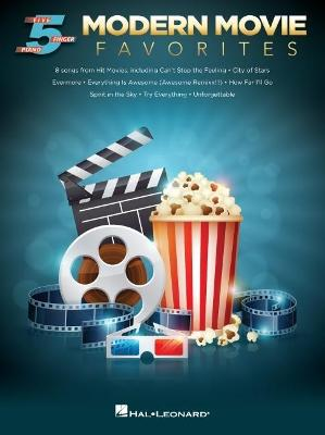 Modern Movie Favourites (Five-Finger Piano) (Paperback)