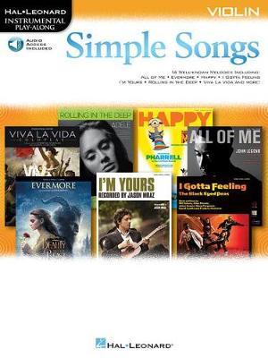 Simple Songs: Violin (Paperback)