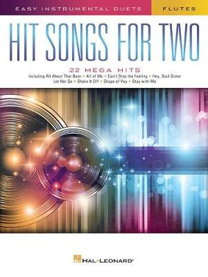 Hit Songs For Two Flutes (Paperback)