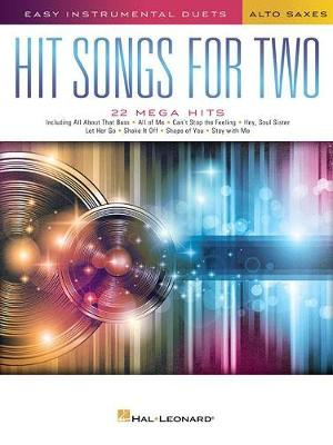 Hit Songs For Two Alto Saxophones (Paperback)