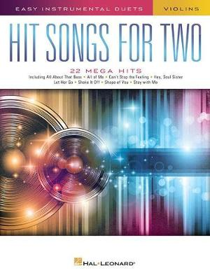 Hit Songs For Two Violins (Paperback)