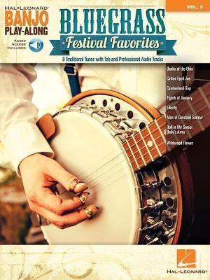 Banjo Play-Along Volume 9: Bluegrass Festival Favorites (Book/Online Audio) (Paperback)