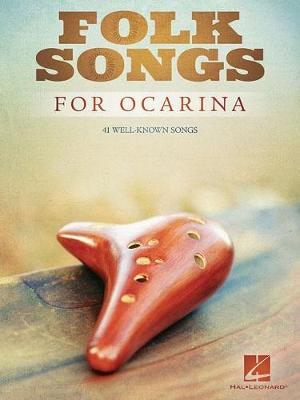 Folk Songs For Ocarina (Paperback)