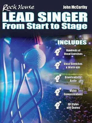 John McCarthy: Rock House - Lead Singer: From Start To Stage (Book/Online Video) (Paperback)