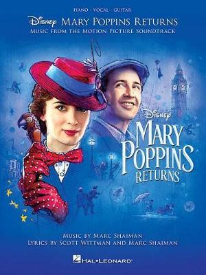 Mary Poppins Returns: Music From The Motion Picture Soundtrack (PVG) (Paperback)