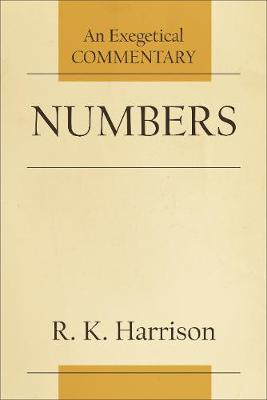 Numbers: An Exegetical Commentary (Paperback)