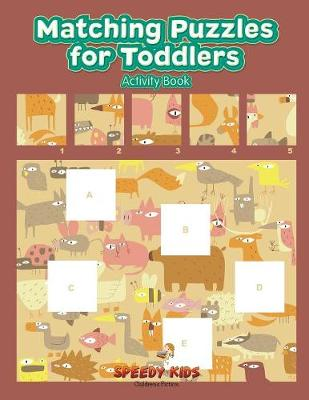 Matching Puzzles for Toddlers Activity Book (Paperback)