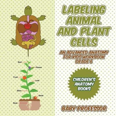 Labeling Animal and Plant Cells - An Advanced Anatomy for Kids Workbook Grade 6 Children's Anatomy Books (Paperback)