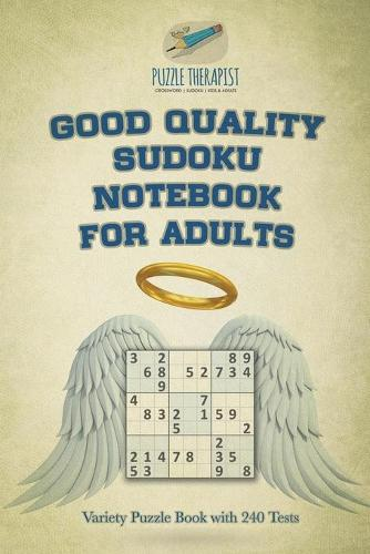 Good Quality Sudoku Notebook for Adults Variety Puzzle Book with 240 Tests (Paperback)
