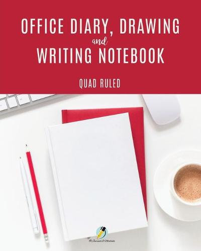 Office Diary, Drawing and Writing Notebook Quad Ruled (Paperback)