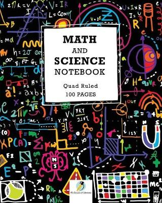 Math and Science Notebook Quad Ruled 100 Pages (Paperback)