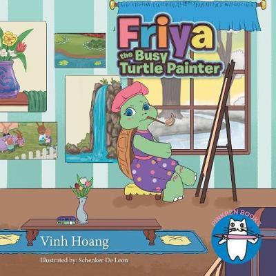 Friya the Busy Turtle Painter (Paperback)