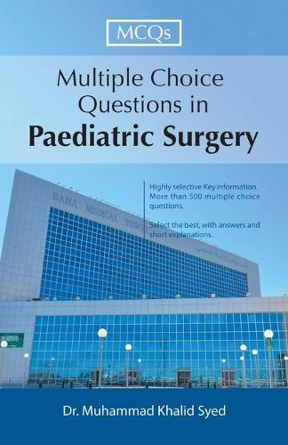 Multiple Choice Questions in Paediatric Surgery (Paperback)