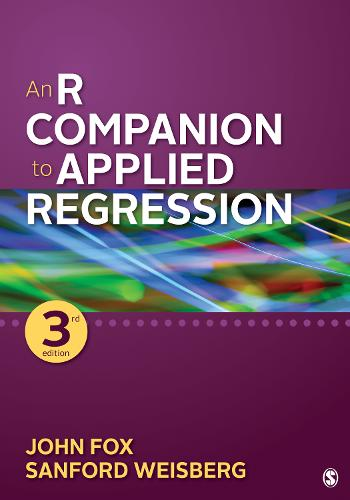An R Companion to Applied Regression (Paperback)