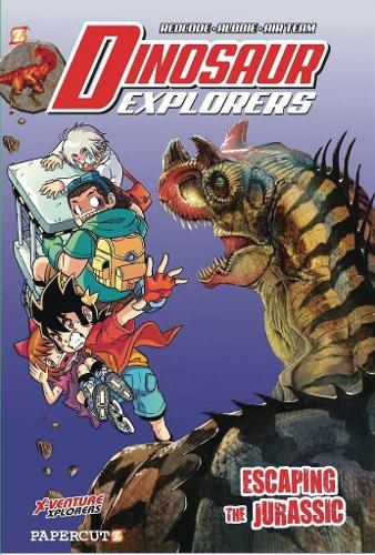 Dinosaur Explorers Vol. 6: Escaping the Jurassic (Hardback)