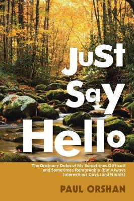 Just Say Hello: The Ordinary Dates of My Sometimes Difficult and Sometimes Remarkable (But Always Interesting) Days (And Nights) (Paperback)