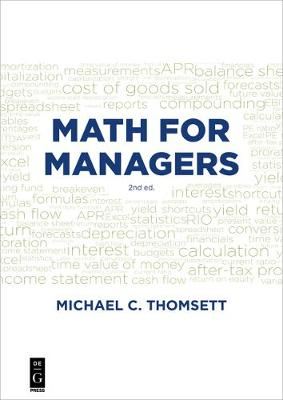 Math for Managers (Paperback)