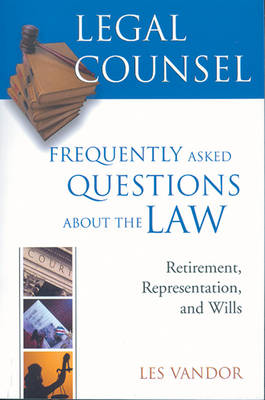 Legal Counsel: Book 3: Frequently Asked Questions about the Law (Paperback)
