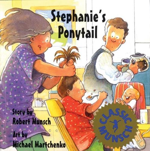 Stephanie's Ponytail (Hardback)