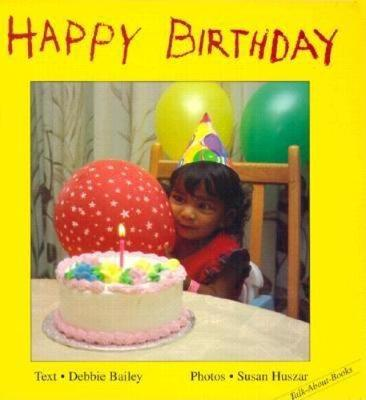 Happy Birthday - Talk-About-Books (Board book)