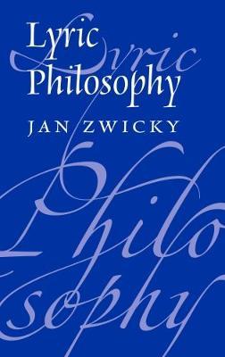 Lyric Philosophy (Hardback)