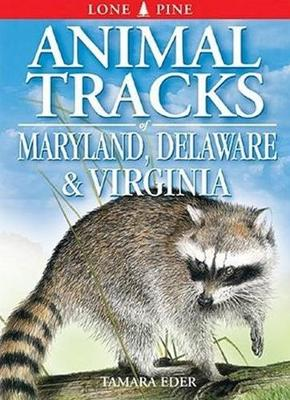 Animal Tracks of Maryland, Delaware and Virginia: including Washington DC (Paperback)