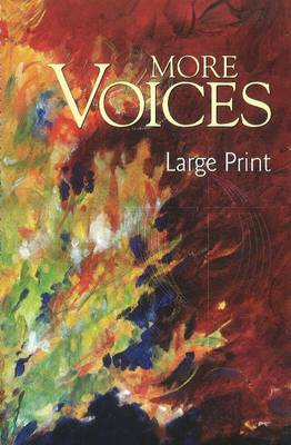 More Voices Large Print (Spiral bound)