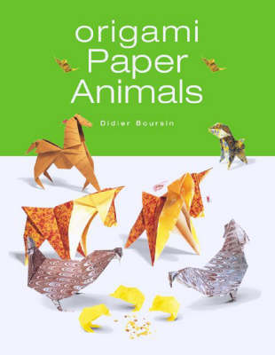 Origami Paper Animals by Didier Boursin | Waterstones - photo#23