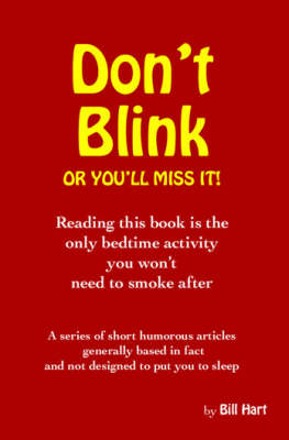 Don't Blink...or You'LL Miss it (Paperback)
