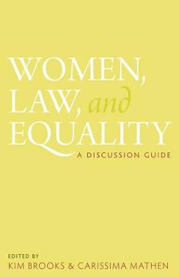 Women, Law, and Equality: A Discussion Guide (Paperback)