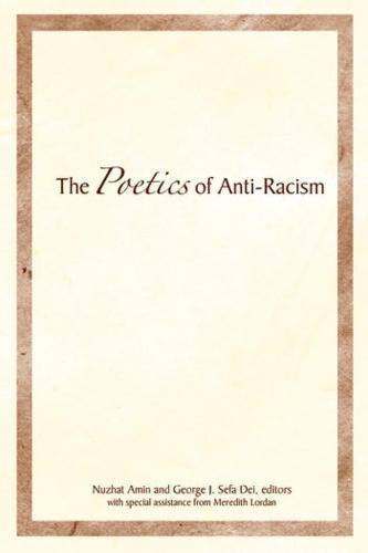 The Poetics of Anti-racism (Paperback)