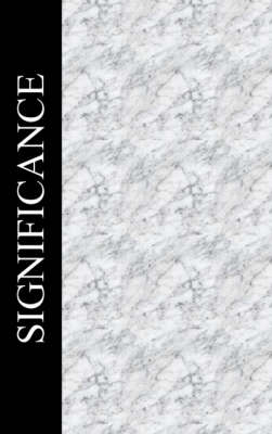 Significance (Paperback)