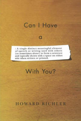Can I Have a Word with You? (Paperback)