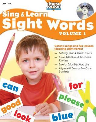 Sing & Learn Sight Words: Volume 1