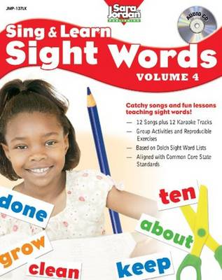 Sing & Learn Sight Words: Volume 4