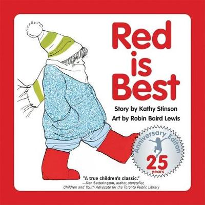 Red is Best: 25th Anniversary Edition (Hardback)
