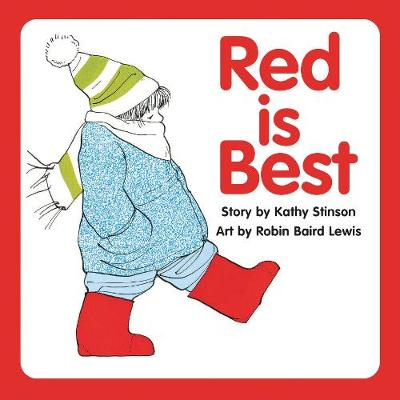 Red is Best (Board book)
