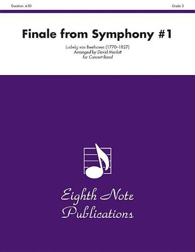 Finale: From Symphony #1 (Sheet music)