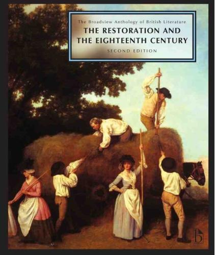 The Broadview Anthology of British Literature: Volume 3: The Restoration and the Eighteenth Century (Paperback)