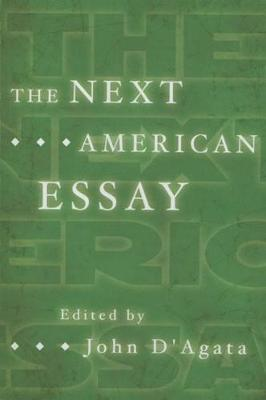 The Next American Essay (Paperback)