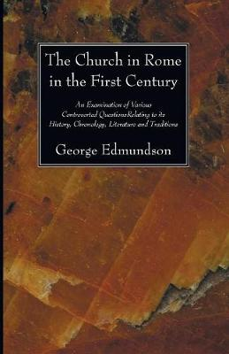 The Church in Rome in the First Century (Paperback)