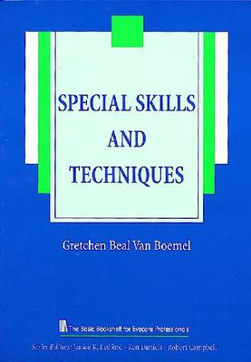 Special Skills and Techniques - The Basic Bookshelf for Eyecare Professionals (Paperback)