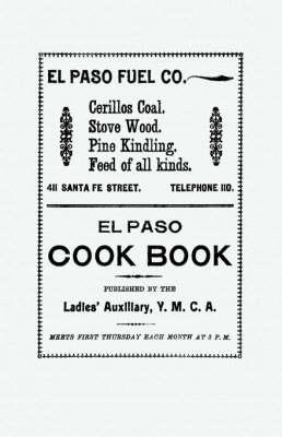 El Paso Cook Book - Cooking in America (Paperback)